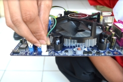 Pasang power fan processor