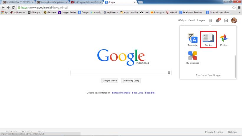 buka google books